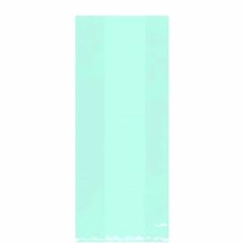 Cello bags/ cellofaanzakjes pastel mint (25st)