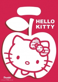 Hello Kitty Apple feestartikelen feestzakje (6st)