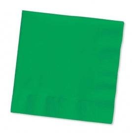 Effen kleur tafelgerei Groen servetten (20st)