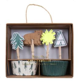 Let's Explore feestartikelen | Cupcake Kit (48dlg)