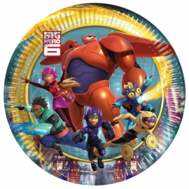 Big Hero 6 feestartikelen bordjes (8st)