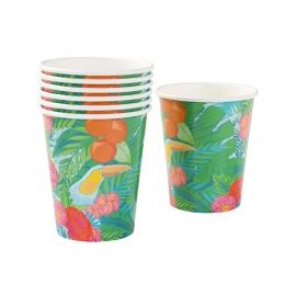 Tropical Fiesta bekers (12st)