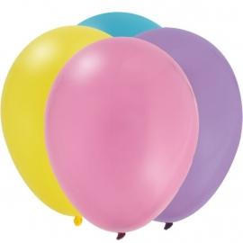 Winnie the Pooh feestartikelen ballonnen roze (12st)