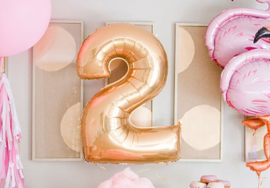 Folie ballonnen - Cijfers