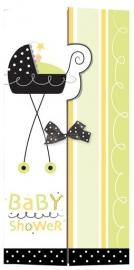 """""""Stroller Fun"""" babyshower uitnodigingen (8st)"""