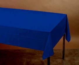 Effen kleur feestartikelen Blauw tafelkleed