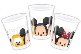 Disney Tsum Tsum feestartikelen - bekers (8st)