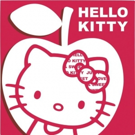 Hello Kitty Apple feestartikelen servetten (20st)