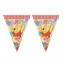 Winnie the Pooh feestartikelen slinger/ vlaglijn