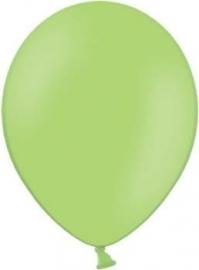 Latex ballonnen lime groen (10st)