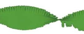 Crepe slinger lime groen 6 meter