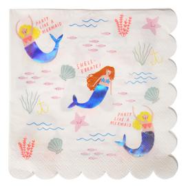 Meri Meri Let's be Mermaids servetten