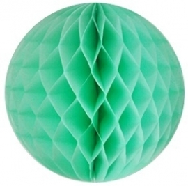 Honeycomb bol mint - turquoise