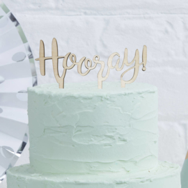 Pick & Mix feestartikelen - Hooray caketopper