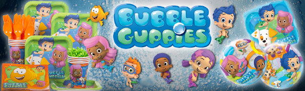 Bubble Guppies feestartikelen