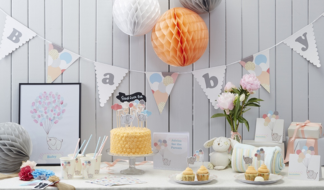 Little-one-babyshower-versiering