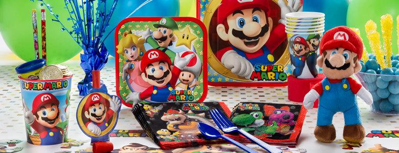 Super-Mario-feestartikelen