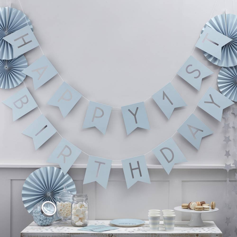ginger-ray-happy-1st-birthday-slinger-blauw-zilver.jpg