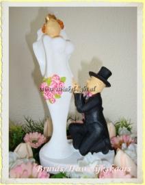 Bruidspaar/Huwelijk/Trouwkaars