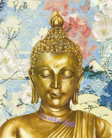 *BINNENKORT* Servetten Relax Boeddha nr. 2a