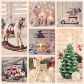 Servetten Kerst Collage