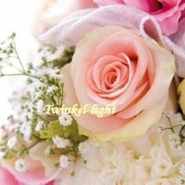 Servetten Romantische Roos