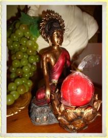 Boeddha kaarsenhouder UITVERKOCHT!