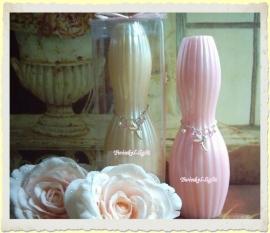 Kaars Romantic Pearl met zachte, romantische geur