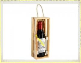 Kaars Fles Rode Wijn
