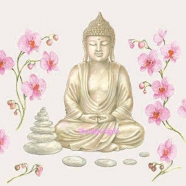 Servetten Boeddha nr. 1