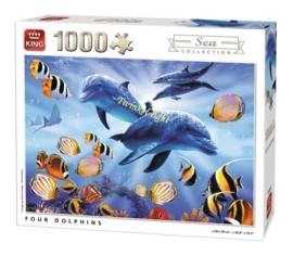 Puzzel 4 Dolfijnen