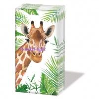 Papieren zakdoekjes Giraffe
