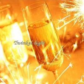 Servetten Champagne