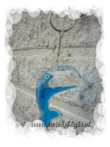 Sleutelhanger Dolfijn met Babydolfijn