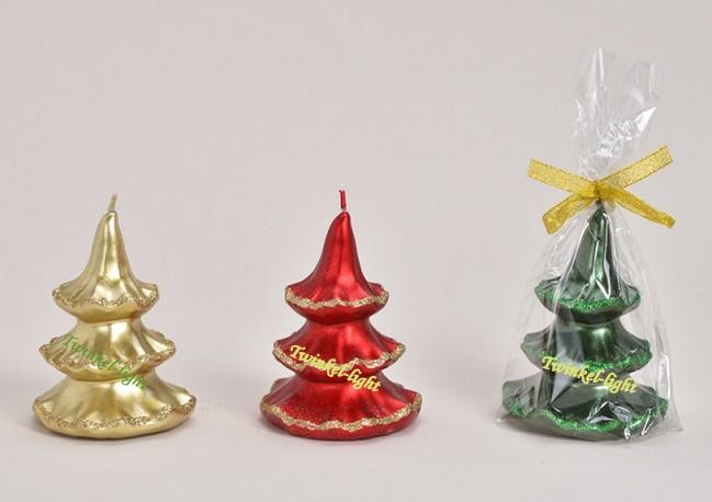 Kaars Luxe Kerstboom