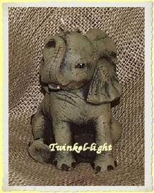 Kaars Baby olifant UITVERKOCHT!