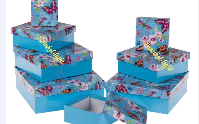 Dozenset Vlinders en Bloemen