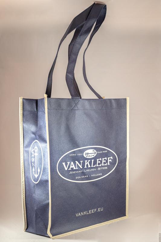 Van Kleef boodschappentas