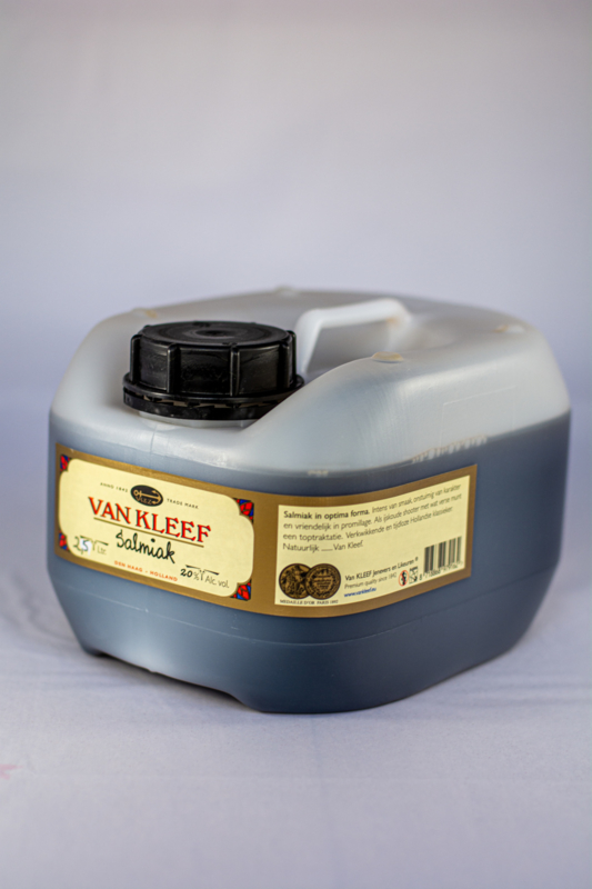 Salmiak jerrycan 2,5l. - 20% AV zonder schenktuit