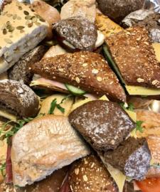 Broodjes op schaal/ lunchbox