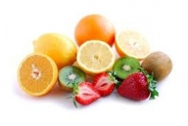 Fruit(salade) en yoghurt