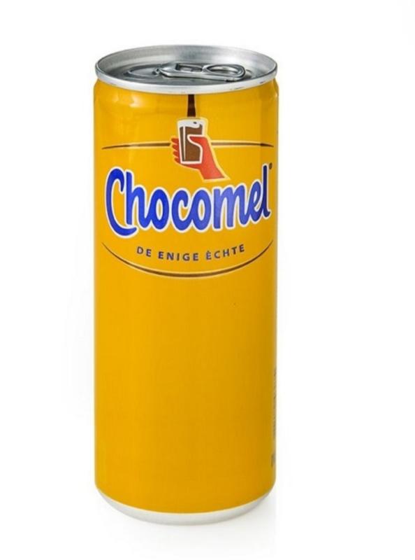 Chocomel blikje