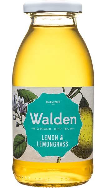 Walden Organic IceTea Lemon & Lemongrass