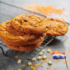 Oranje Koek (Bloedsinaasappel met cranberries en witte chocolade)