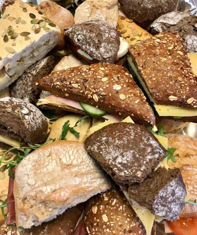 Luxe broodjes op schaal