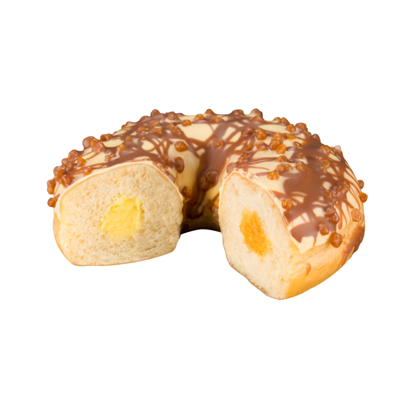 Donut crème brûlée