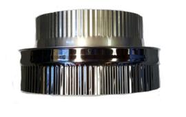ISOTUBE Plus 5cm isolatie t Onderaansluitstuk naar 200 mm met krimprand