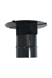 Kruiskap Zwart/RAL 9005 110 mm #HV206111