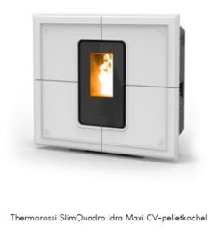 Thermorossi SlimQuadro Idra Maxi CV-pelletkachel