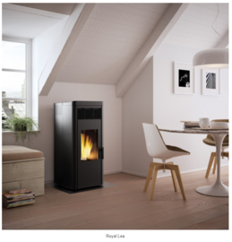 Royal Lea pelletkachel  9 kW of 12 kW